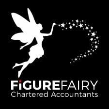 Logo Design Plymouth - Figure Fairy Black Logo - Web Design and SEO Company