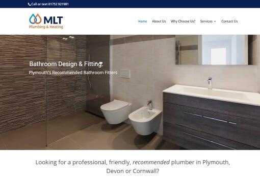 Recent Work - MLT Plumbing & Heating Plymouth Website