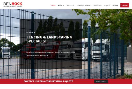 Recent Work - Ben Nock Fencing & Landscaping in Bovey Tracey, Devon - New Website