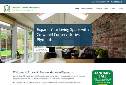 Recent Work - Crownhill Conservatories, Plymouth New Website