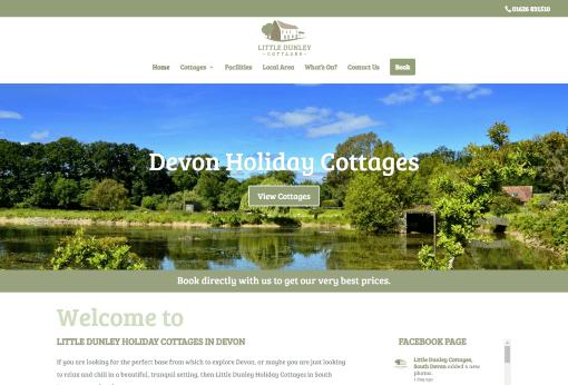 Recent Work Little Dunley Cottages, Newton Abbot - New Website