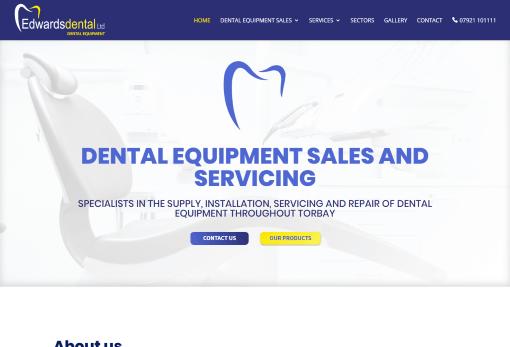 Recent Work - Edwards Dental, Newton Abbot - New Website