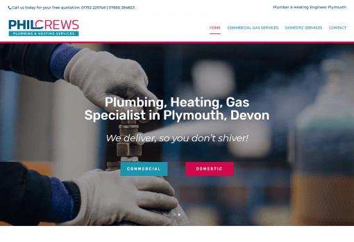 Recent Work - Phil Crews Plumbing & Heating in Plymouth - New Website