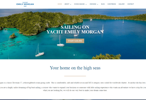 Recent Work - Yacht Emily Morgan, Plymouth - New website