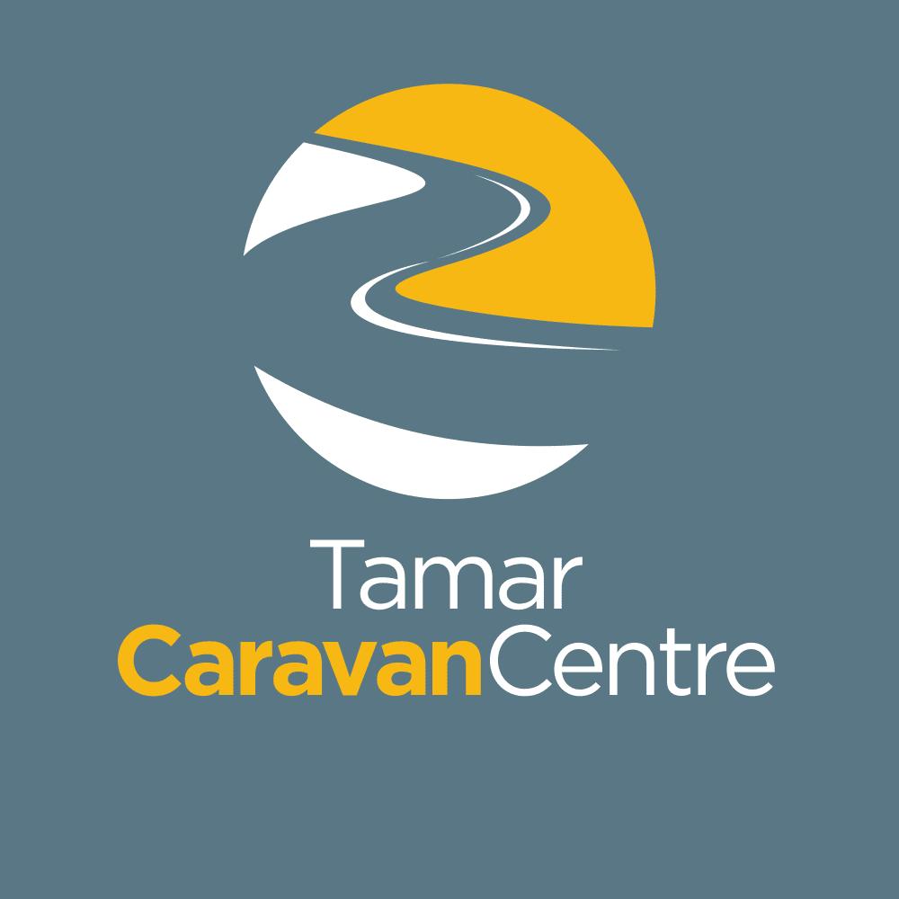 Logo Design Plymouth - Tamar Caravan Centre Dark - Web Design and SEO Company