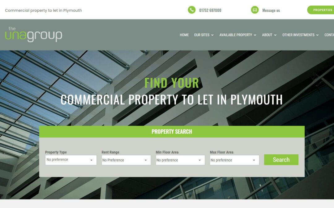 Website Redesign & Redevelopment: The Una Group
