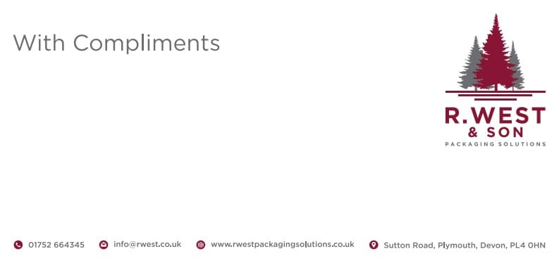 Business Stationery Design Plymouth - R West CS - Web Design and SEO Company