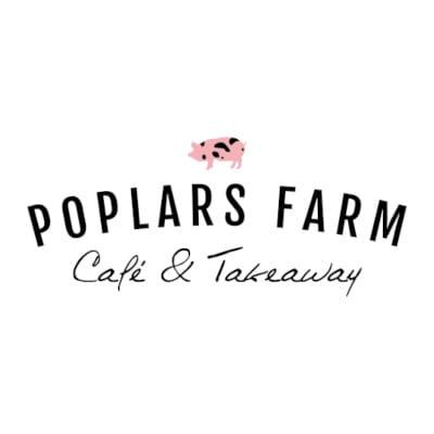 Logo Design Plymouth - Poplars Farm Cafe - Web Design and SEO Company