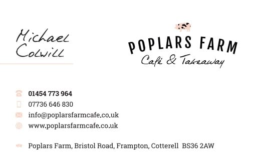 Business Stationery Design Plymouth - MC Poplars Front - Web Design and SEO Company