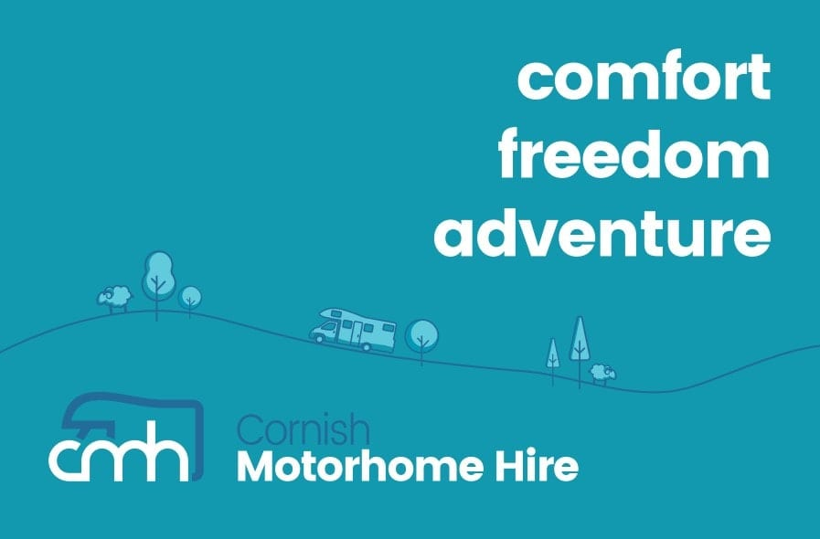 Business Stationery Design Plymouth - Cornish Motorhome Hire Back - Web Design and SEO Company