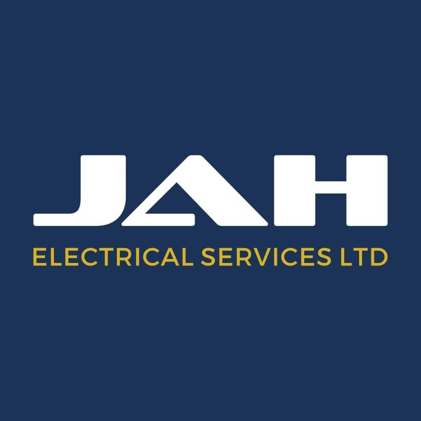 Logo Design Plymouth - JAH Electrical Logo - Web Design and SEO Company