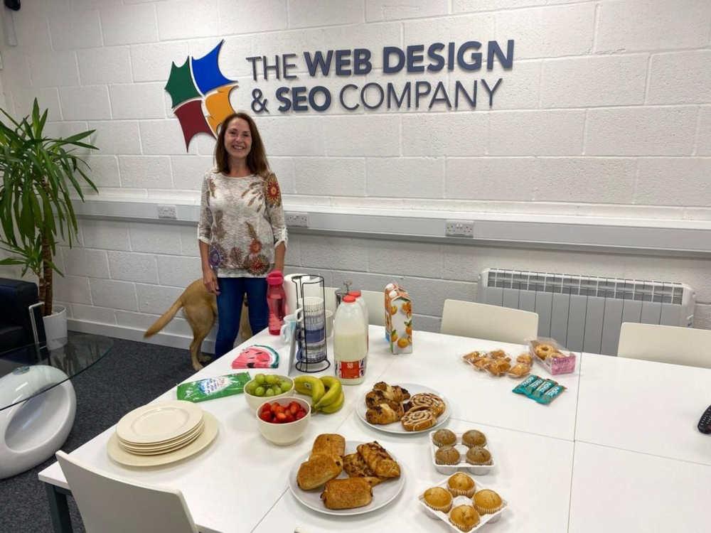 meet the team - claire millar digital marketing executive - web design and seo company limited