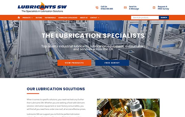 Recent-Work---Lubricants-SW---Web-Design-and-SEO-Company-Limited